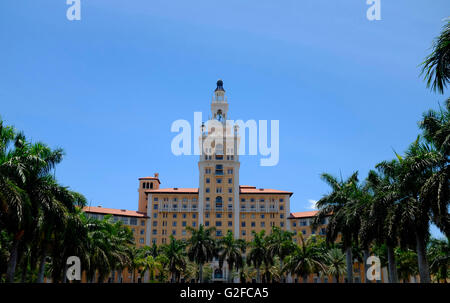 The Biltmore Hotel, Coral Gables, Miami, Florida, USA - Stock Photo