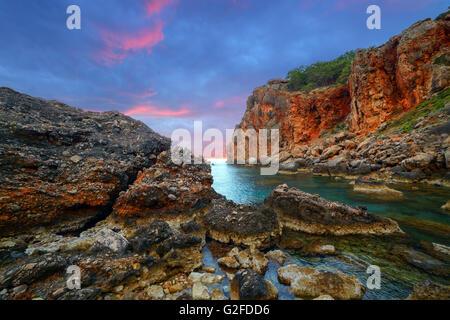 Amazing Mediterranean seascape in Turkey - Stock Photo