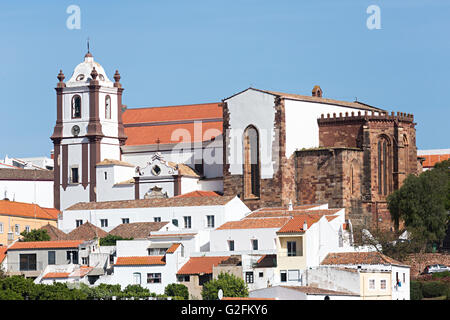 Silves Cathedral, Algarve, Portugal - Stock Photo