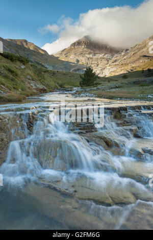 Aisa valley in the Pyrenees mountains, Huesca, Aragón, Spain. - Stock Photo