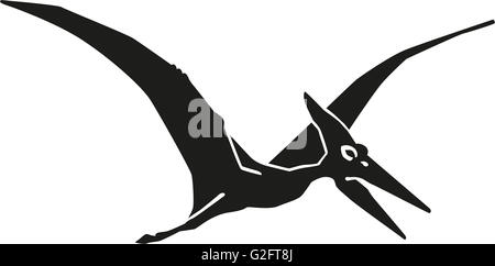 Dinosaur pteranodon pterosaur - Stock Photo