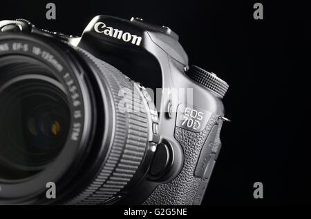 Camera Canon  DSLR 70D - Stock Photo