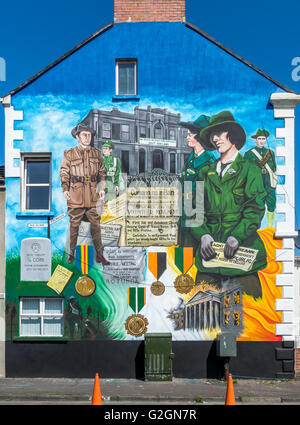 6 g p o belfast stock photo royalty free image for Easter rising mural