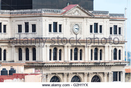 The Lonja del Comercio or Commerce Market building in Old Havana served as the stock exchange in the capital until - Stock Photo