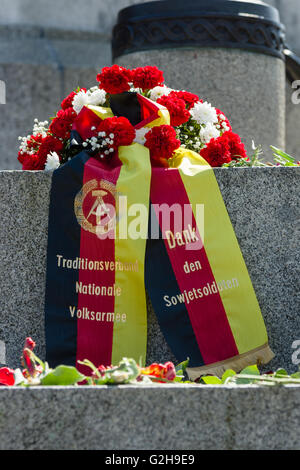 Victory Day in Treptower Park. Berlin, Germany - Stock Photo