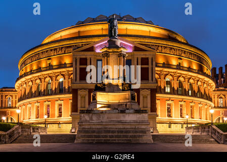 Royal Albert Hall in Kensington, London, United Kingdom - Stock Photo