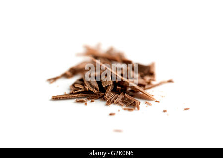 Chocolate shavings - Stock Photo
