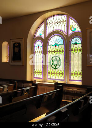 Kiever Synagogue interior, Toronto, Ontario Province, Canada - Stock Photo