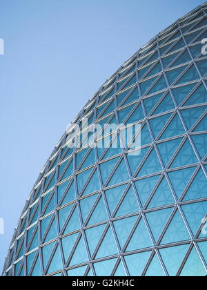 Part of glass dome, 3D Rendering - Stock Photo