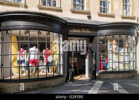 Jack Wills, Bath, England - Stock Photo