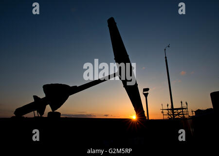 Trafalgar Monument, Clarence Esplanade, Southsea, Portsmouth - Stock Photo