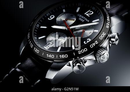 Certina watch. - Stock Photo