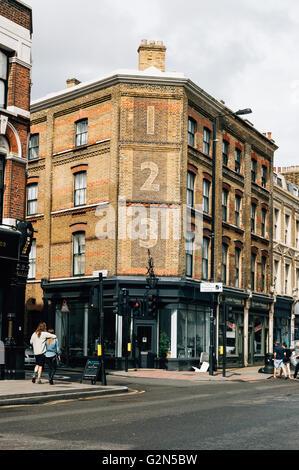 England, London, Shoreditch, Brick Lane, Sunday Flea ...