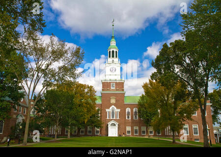 The Baker-Berry Library at Dartmouth College in Hanover, New Hampshire, USA. - Stock Photo