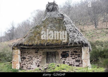 Teito, Arroyo de los Lagos, Parque Natural de Somiedo, Asturias, Northern Spain. - Stock Photo