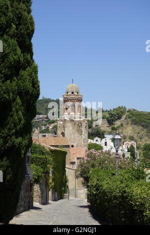 The church of San Giovanni Battista, Castiglione della Pescaia in the province of Grosseto, Tuscany Italy. - Stock Photo