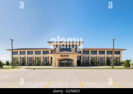 Hobby Lobby Finance Department building at 7707 SW 44th St., Oklahoma City, Oklahoma, USA. - Stock Photo