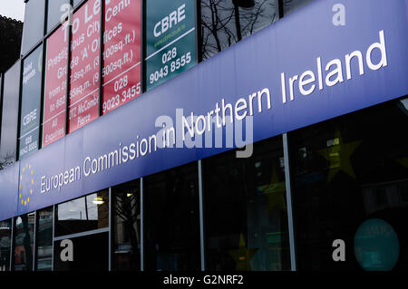 European Commission in Northern Ireland - Stock Photo