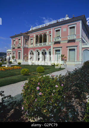Villa Ephrussi de Rothschild. Saint-Jean-Cap-Ferrat. French Riviera. France - Stock Photo