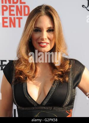 Los Angeles, CA, USA. 1st June, 2016. Alex Meneses at arrivals for 2016 LA Film Festival Opening Night Premiere - Stock Photo