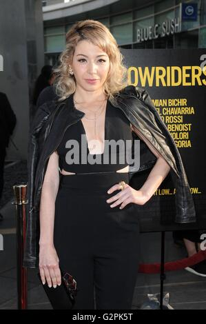 Los Angeles, CA, USA. 1st June, 2016. Catherine Castro at arrivals for 2016 LA Film Festival Opening Night Premiere - Stock Photo