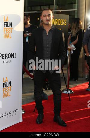 Hollywood, CA, USA. 1st June, 2016. 01 June 2016 - Hollywood, Gabriel Chavarria. 2016 Los Angeles Film Festival - Stock Photo
