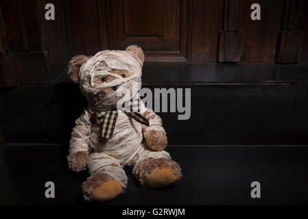 Teddy Bear Mummy Or Injured For Halloween Sorry