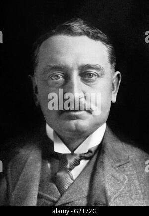 Cecil Rhodes, portrait c.1900 - Stock Photo