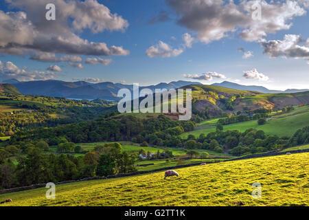 Keswick; Cumbria; Lake District; England; UK - Stock Photo