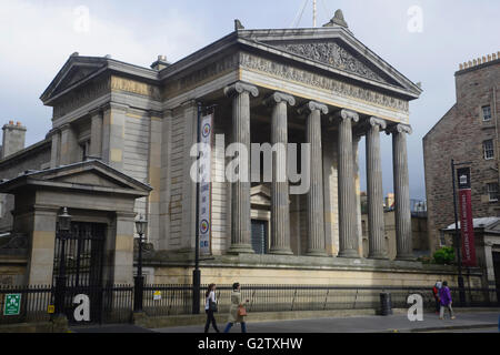 Scotland, Edinburgh, Surgeons Hall Museum. - Stock Photo