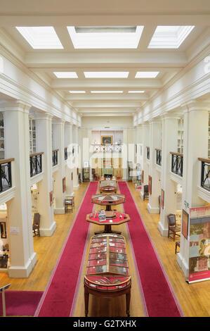Scotland, Edinburgh, Surgeons Hall Museum, interior hall. - Stock Photo
