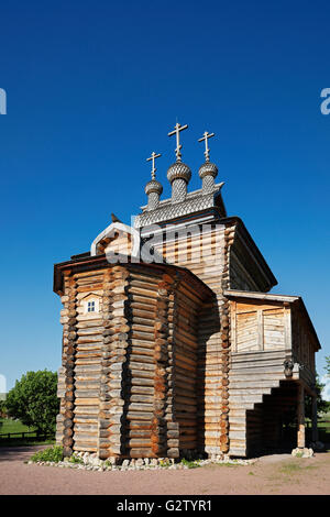 The Church of the Great Martyr St. George the Victorious. Kolomenskoye Museum-Reserve, Moscow, Russia. - Stock Photo