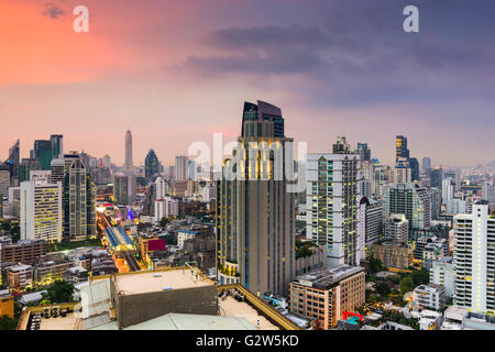 Bangkok, Thailand city skyline. - Stock Photo