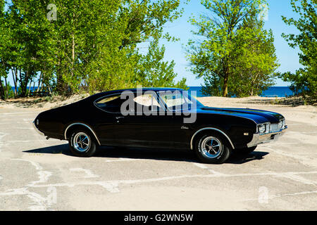 1968 Oldsmobile Cutlass S - Stock Photo