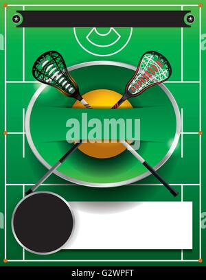 A Flyer Template For A Lacrosse Event Stock Photo 105007032 Alamy