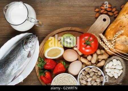Allergy food concept. - Stock Photo