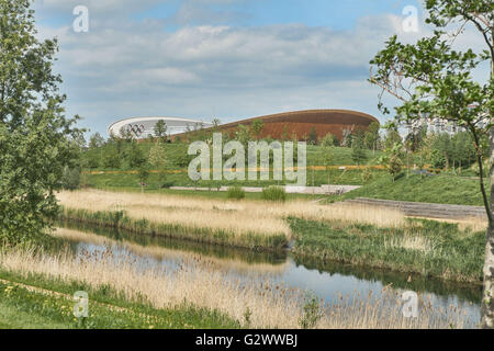 Olympic Park London,  Velodrome - Stock Photo