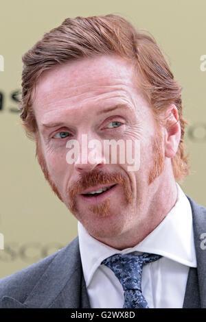 16.06.2015, Ascot , Berkshire, Grossbritannien - Damian Lewis, actor. 00S150616D722CAROEX.JPG - NOT for SALE in - Stock Photo