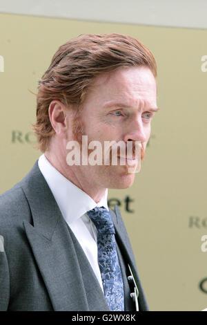 16.06.2015, Ascot , Berkshire, Grossbritannien - Damian Lewis, actor. 00S150616D724CAROEX.JPG - NOT for SALE in - Stock Photo