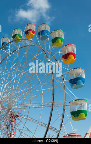 Ferris Wheel at Luna Park Sydney, Milsons Point, Sydney, New South Wales, Australia - Stock Photo