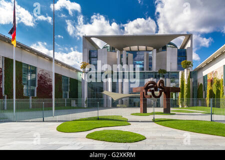 German Federal Chancellery Building , Berlin , Germany - Stock Photo