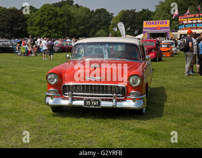 Chevrolet GMC model Bleair 5L on display at the Classic Car show 2016 in Norman Park Bromley - Stock Photo