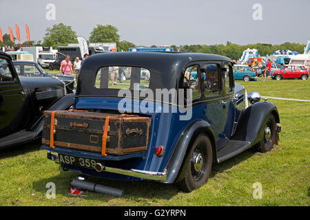 Wolseley on display at the Classic Car show 2016 in Norman Park Bromley - Stock Photo