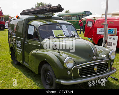 Morris Van 1966 on display at the Classic Car show 2016 in Norman Park Bromley - Stock Photo