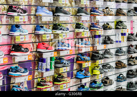 Nike Running Shoes For Sale In A Sports Direct Shop, Scotland, Uk ...
