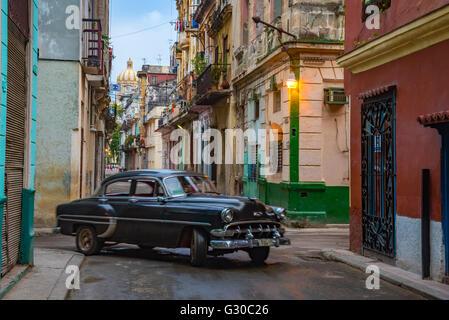 La Habana Vieja, Havana, Cuba, West Indies, Caribbean, Central America - Stock Photo