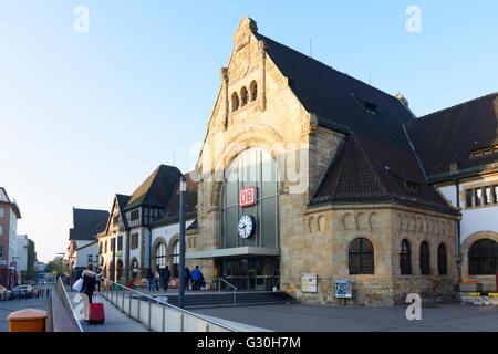 Worms main station, Germany, Rheinland-Pfalz, Rhineland-Palatinate, , Worms - Stock Photo