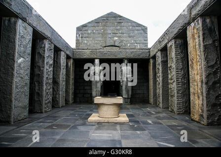 Petar Petrovic Njegos's Mausoleum, Lovćen (Lovcen) national park Montenegro. - Stock Photo