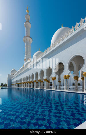 Transcendence, Sheikh Zayed Grand Mosque, Abu Dhabi - Stock Photo
