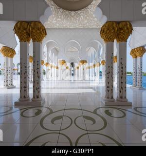Transcendence, Sheikh Zayed Grand Mosque, Abu Dhabi - Stock Photo